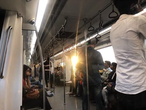 Delhi Metro - The Sunset Journey, Blue Line