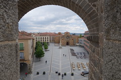 Looking down on to Plaza de Santa Teresa de Jesus