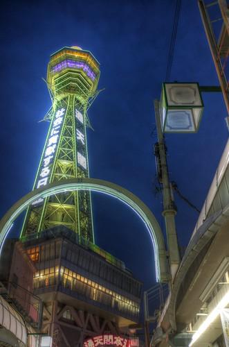 Tsutenkaku in evening on 20-05-2018 (6)