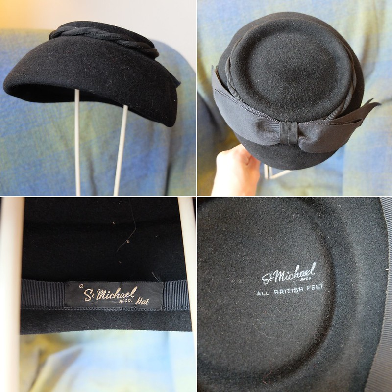st michael 1950s hat