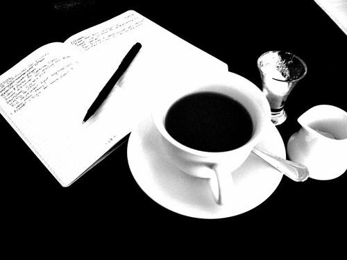 Over coffee...