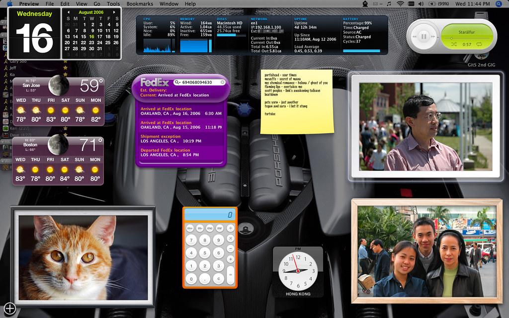 august 2006 dashboard