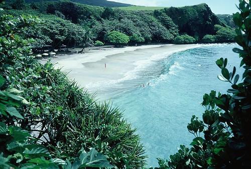 Hamoa Beach, near Hana, Maui