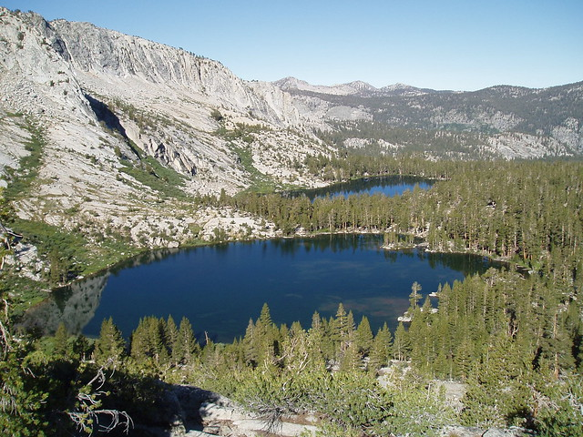Lagos glaciares del oeste, Sequoia and Kings Canyon National Park, California, Estados Unidos