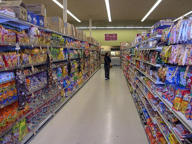 Junk food choice...