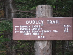 dudley trail signage