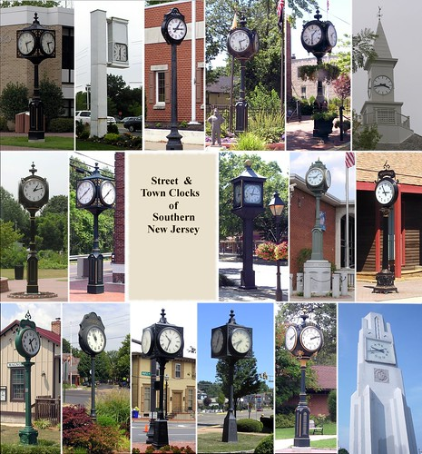 Street & Town Clocks of South Jersey by C r u s a d e r