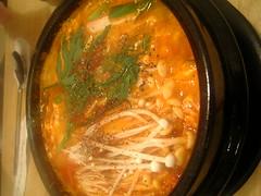 pickled foods(0.0), kimchi jjigae(0.0), produce(0.0), vegetable(1.0), jjigae(1.0), food(1.0), dish(1.0), soup(1.0), cuisine(1.0),