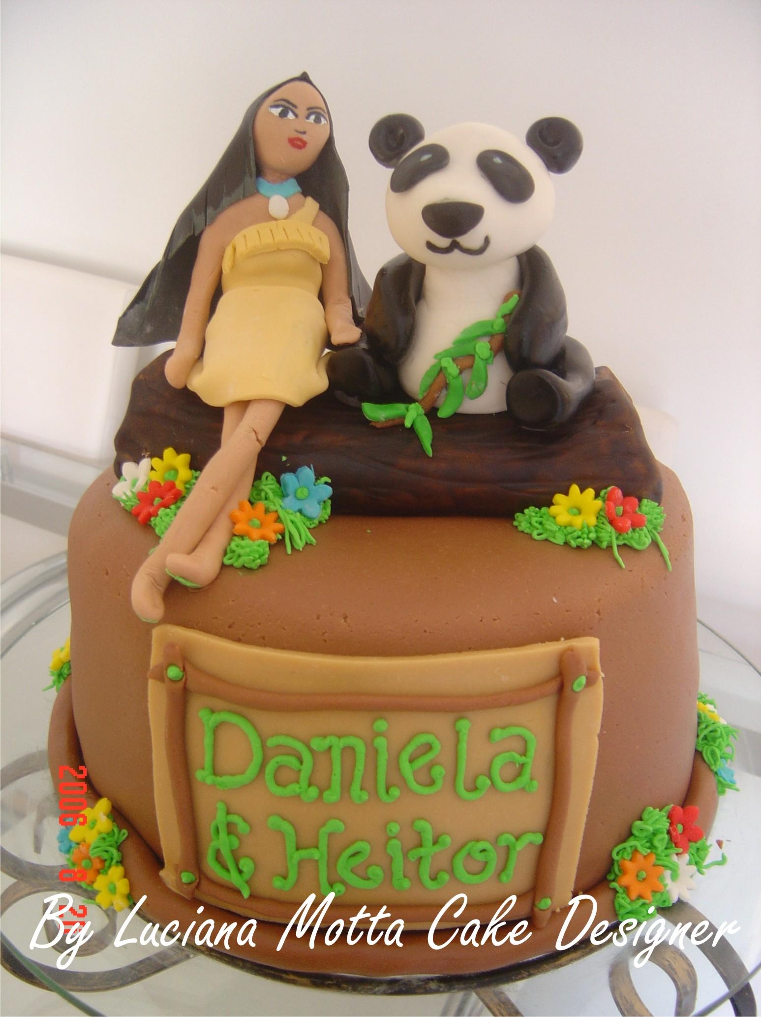pocahontas birthday cakes