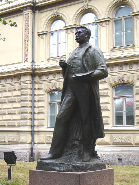 Albert Edelfelt, Helsinki, Finland