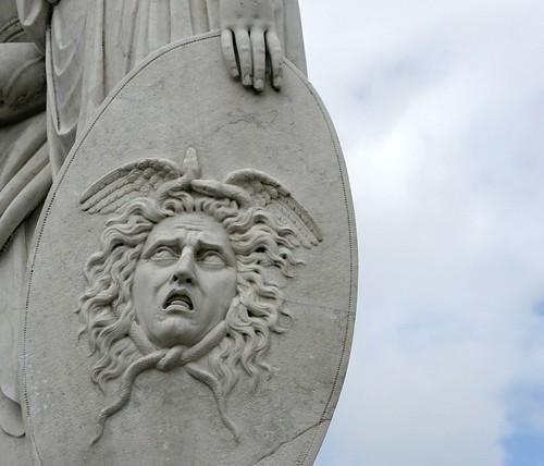 Schild der Minerva