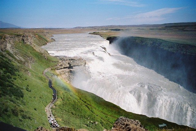 Gullfoss (The Golden Waterfall)