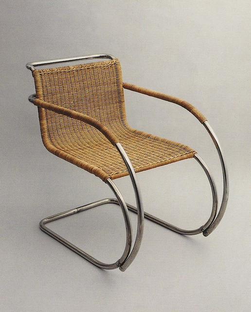 bauhaus chair designed by mies van der rohe 1927 he took flickr photo sharing. Black Bedroom Furniture Sets. Home Design Ideas