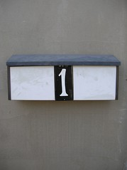 rectangle, wall, house numbering, lighting,