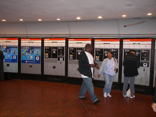 Farecard machines, Union Station