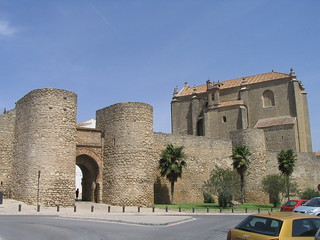 Ronda, Spain - Arab Walls and City Gates