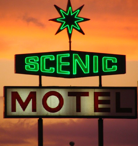 Scenic Motel sign - Pigeon Forge, TN
