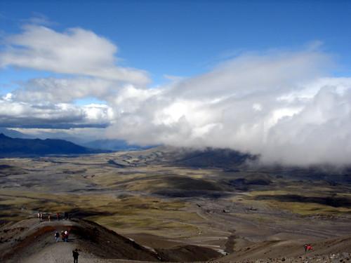 trip sky cloud mountain ecuador view sa cotopaxi otopaxi
