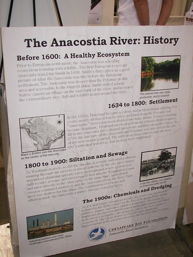 Anacostia River organization, booth, Green Festival