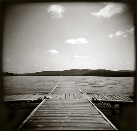 A dock on schroon lake in NY | Flickr - Photo Sharing!