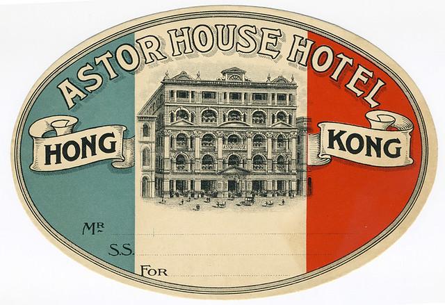 suitcase stickers Vintage
