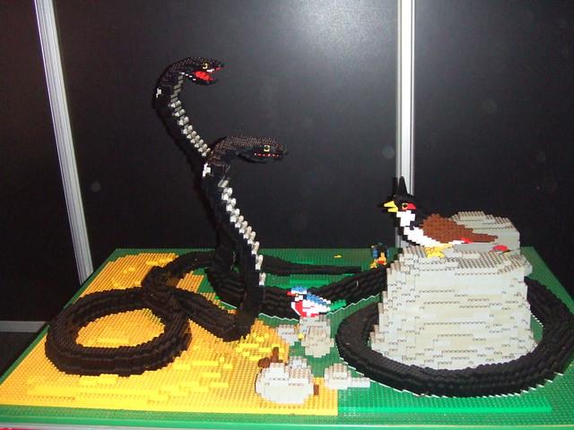Slangen en vogels
