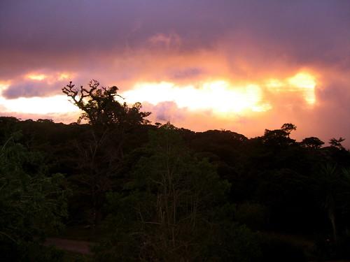 sunset costarica honeymoon monteverde