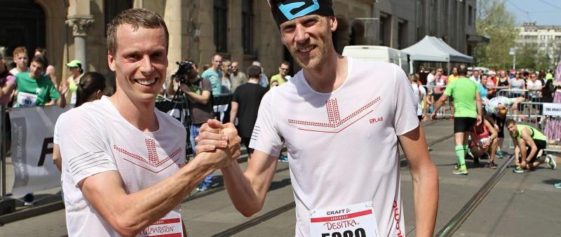 Čípa opět pokořil traťový rekord Craft Brněnského půlmaratonu