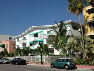 Midcentury  Apartment Building South Beach