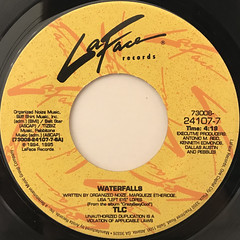 TLC:WATERFALLS(LABEL SIDE-A)