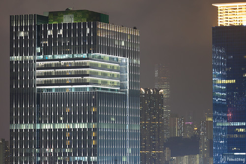 Choi Tak Shopping Centre at Night