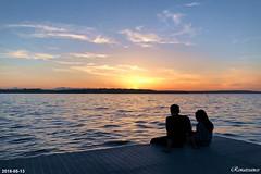 Sunset at Houghton Beach Park