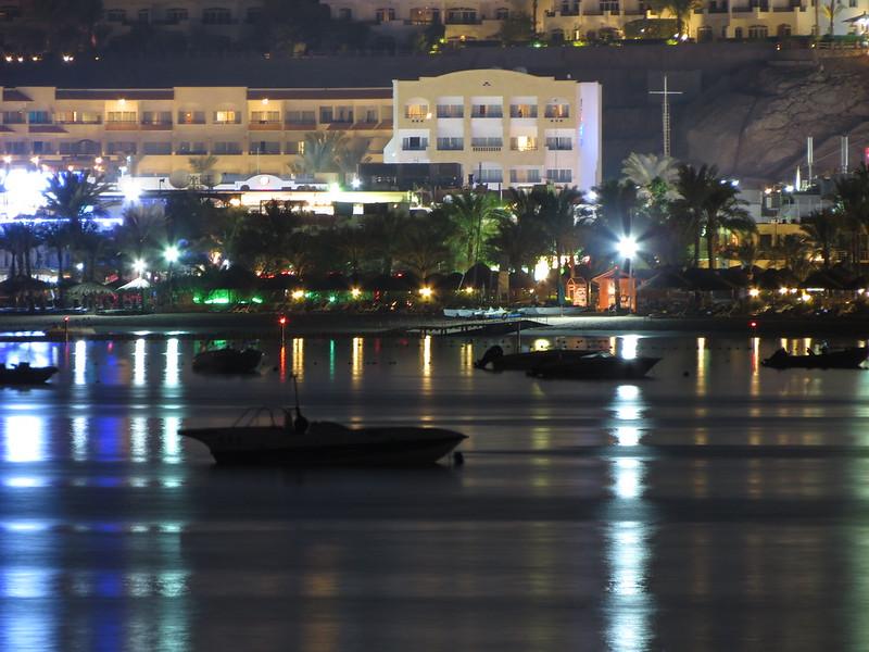 Night boats in Naama BayIMG_2944