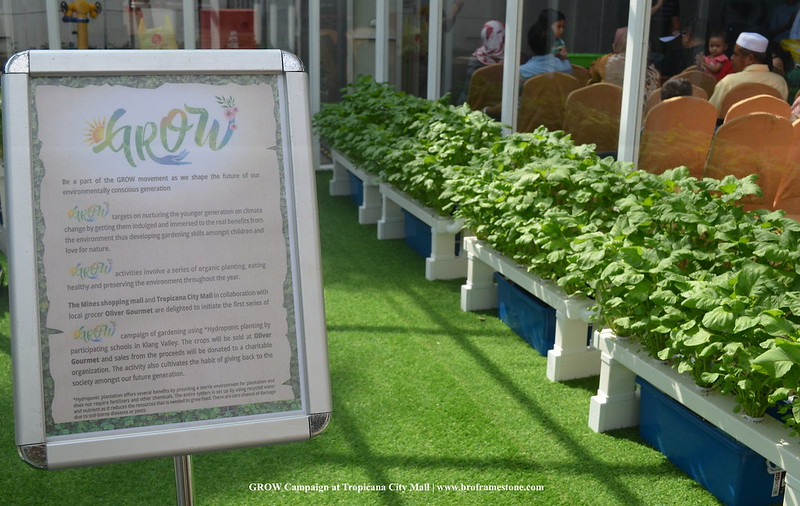 GROW Campaign at Tropicana City Mall
