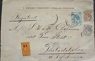 Schulman, Jules 1903 postal cover