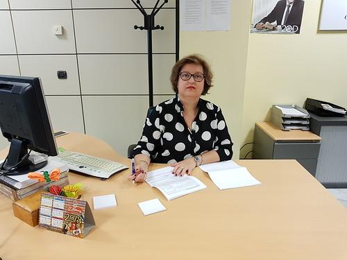 Mª Carmen Espada, portavoz del Grupo Municipal del PP