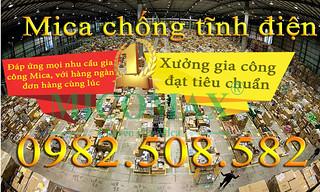 Đại lý Mica chống tĩnh điện tại Hà Nội