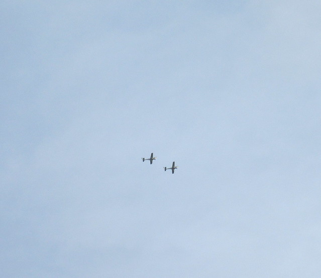 Aeroplanes over Kemback