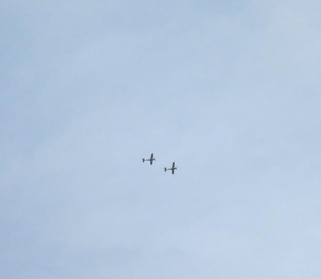 Aeroplanes over Kemback