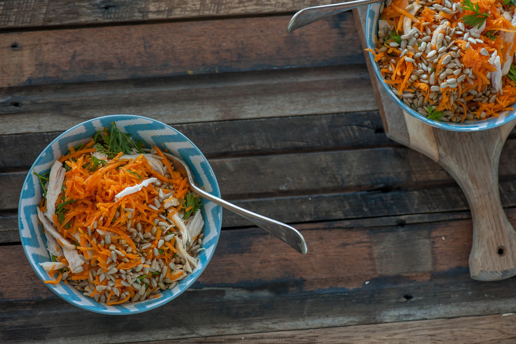 Sunny Parisian Carrot Bowls_