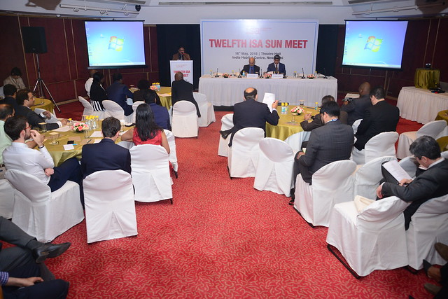ISA 12th SUN Meet held on 16th May, 2018 at India Habitat Centre, New Delhi.