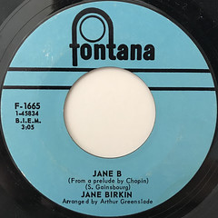 JANE BIRKIN & SERGE GAINSBOURG:JE T' AIM... MOI NON PLUS(LABEL SIDE-B)