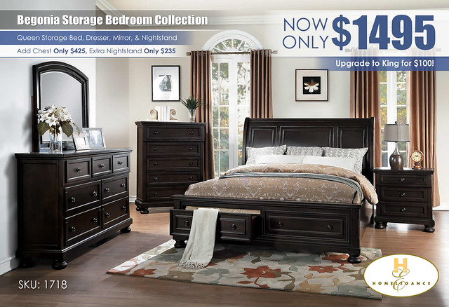 Begonia Homelegance Storage Bedroom_1718GY-1_450_source