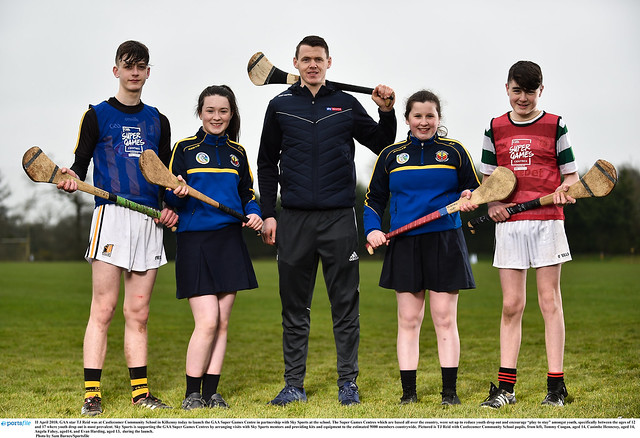 Sky GAA Visit to CCS April 2018