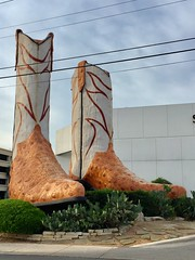 'Biggest Cowboy boots in the World' - and why not!