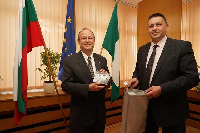 Ambassador Eric Rubin Visits Razgrad