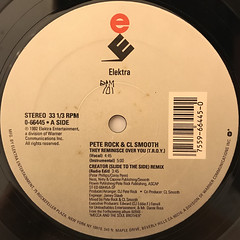 PETE ROCK & C.L. SMOOTH:THEY REMINISCE OVER YOU(T.R.O.Y.)(LABEL SIDE-A)