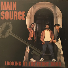 MAIN SOURCE:LOOKING AT THE FRONT DOOR(JACKET A)