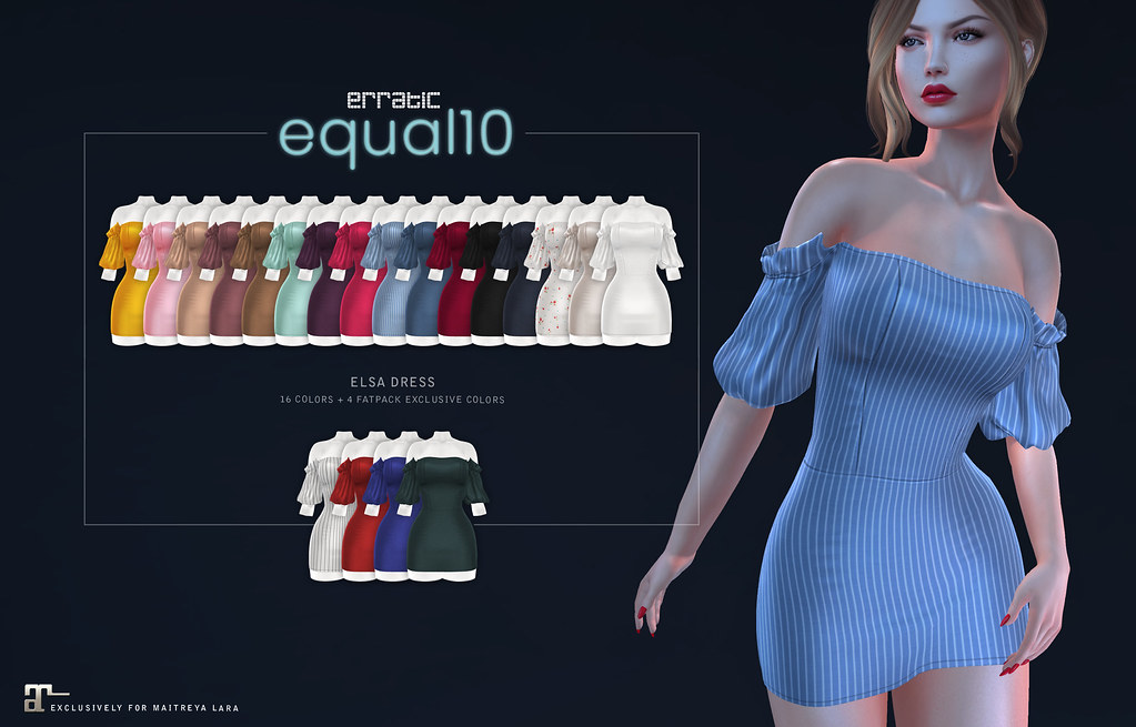 elsa dress by erratic for equal10 - TeleportHub.com Live!