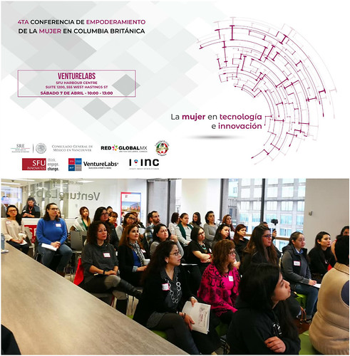 4ta. Conferencia de Empoderamiento de la Mujer en Columbia Británica